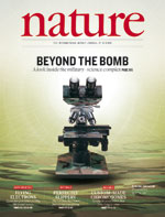 cover Nature journal Volume 477 Number 7365
