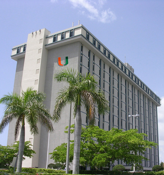 University of Miami, Gables One Tower, Coral Gables, FL