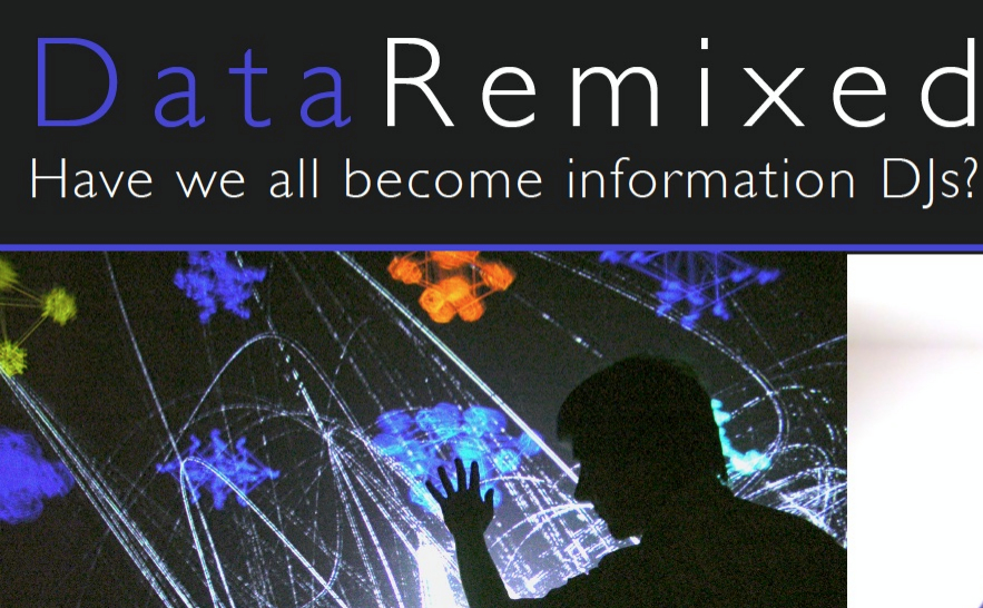 Places & Spaces:  Data Remixed, Thursday 11/13/2014