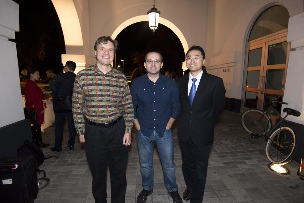 Vicktor Milenkovia, Alberto Cairo, and Juhong Park