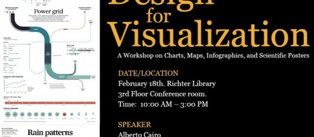 Design for Visualization Workshop, Wednesday 2/18/2015