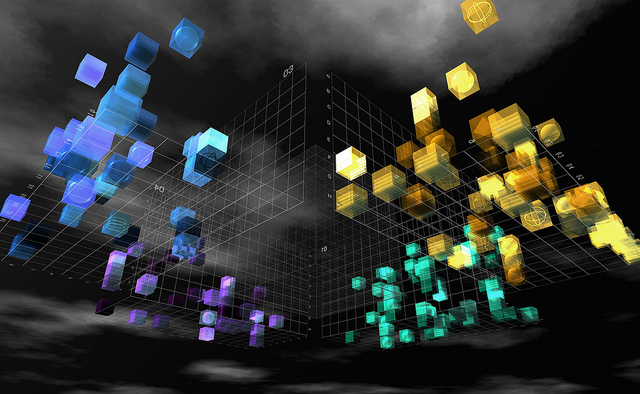 3D data Visualization by Elif Ayiter