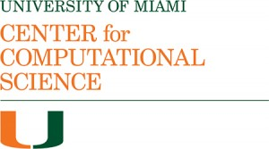 University of Miami Center for Computational Science logo