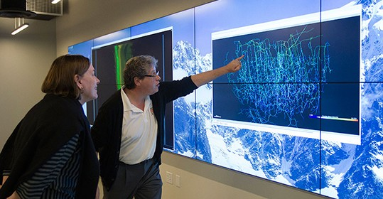 Visualization Goes High-Tech with launch of CCS's New Viz Lab