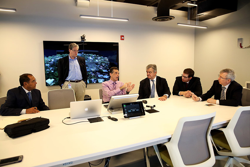 Yucatan Delegation Heuristic at University of Miami Center for Computational Science Visualization Laboratory March 31 2016