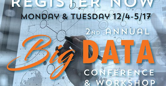 2nd Annual BIG DATA Conference & Workshop 12/4-5/17
