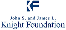 The John S. and James L. Knight Foundation logo