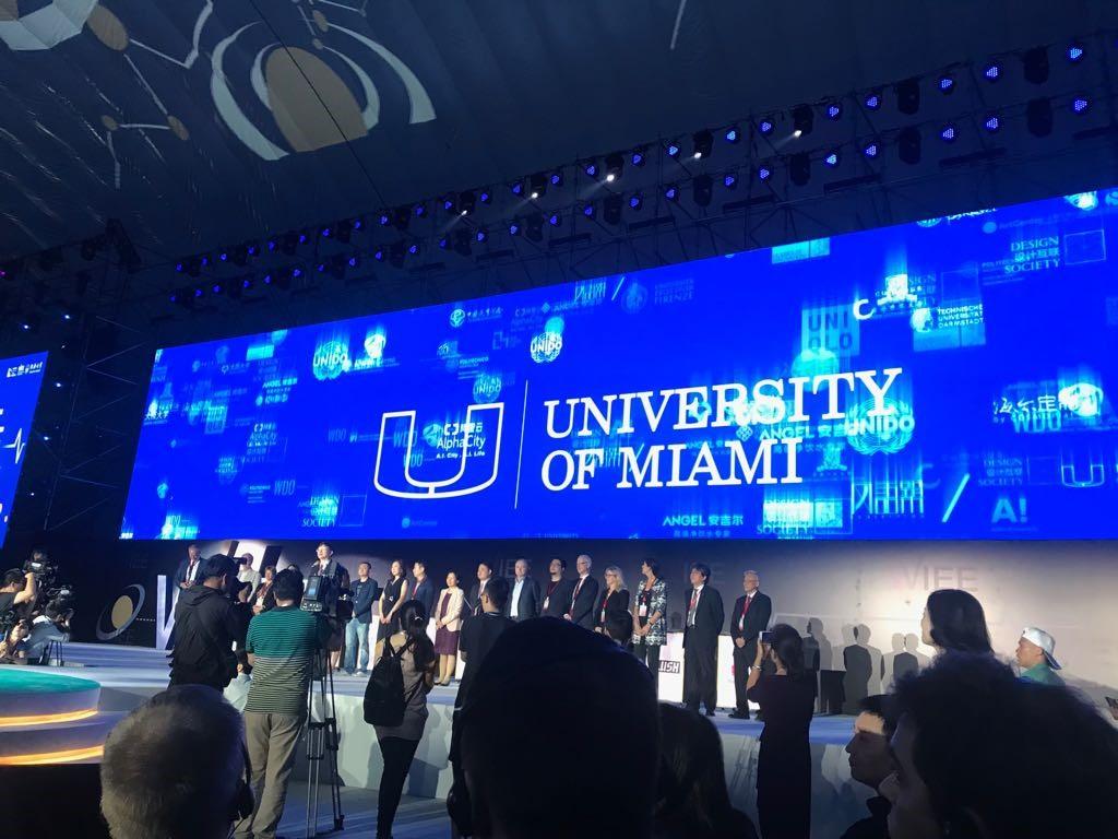 WIEE 2018 World Innovation and Entrepreneurship Expo, Shanghai, University of Miami School of Architecture Smart Cities