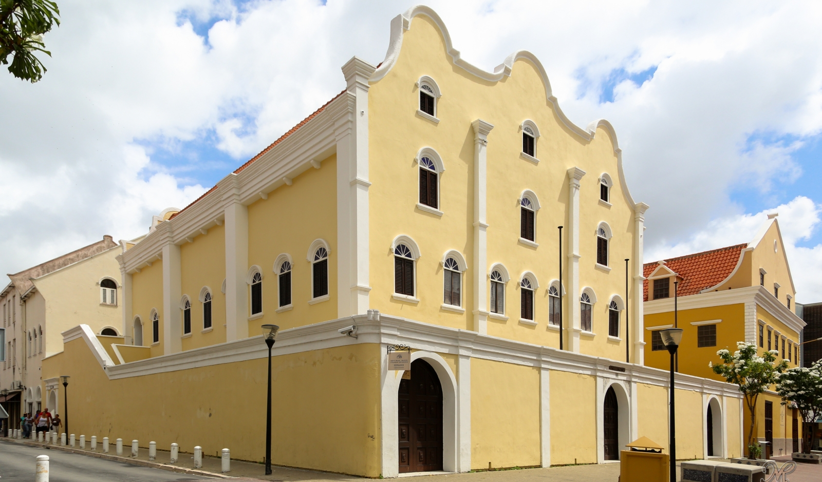 Mikve Israel Emanual Synagogue in Willemstad Curacao