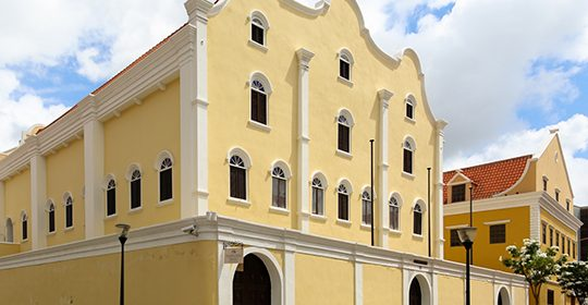 CCS Software Engineering Drone Maps Oldest Surviving Synagogue in Curacao