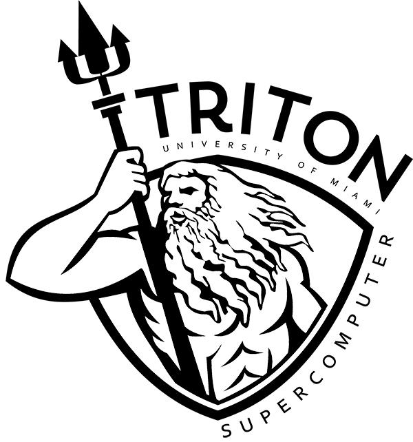 TRITON University of Miami supercomputer logo