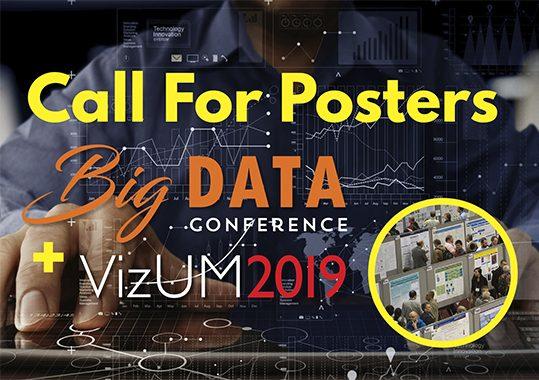 Big Data + VizUM Call for Posters Deadline Extended to 11/15