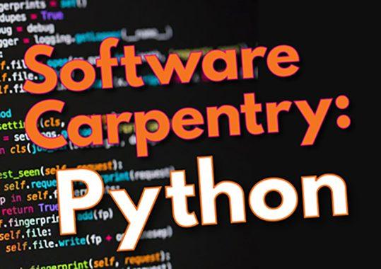 Software Carpentry-Python Workshop 11/11-12/2019 Medical Campus