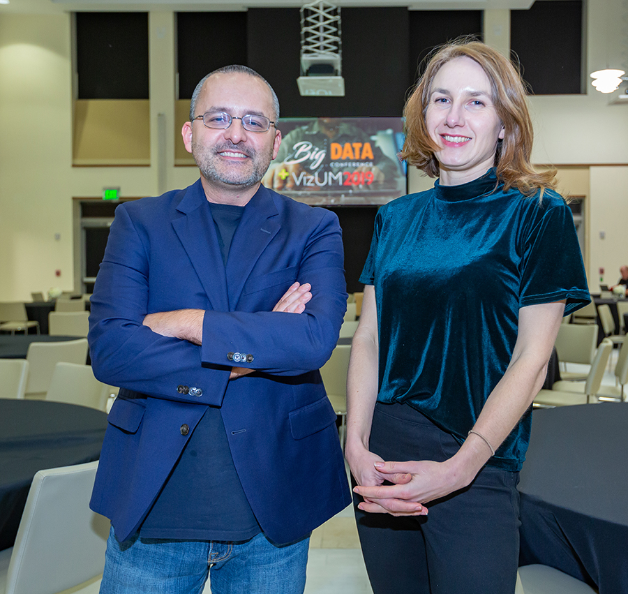 University of Miami Center for Computational Science Big Data Conference 2019 Alberto Cairo and Jessica Hullman
