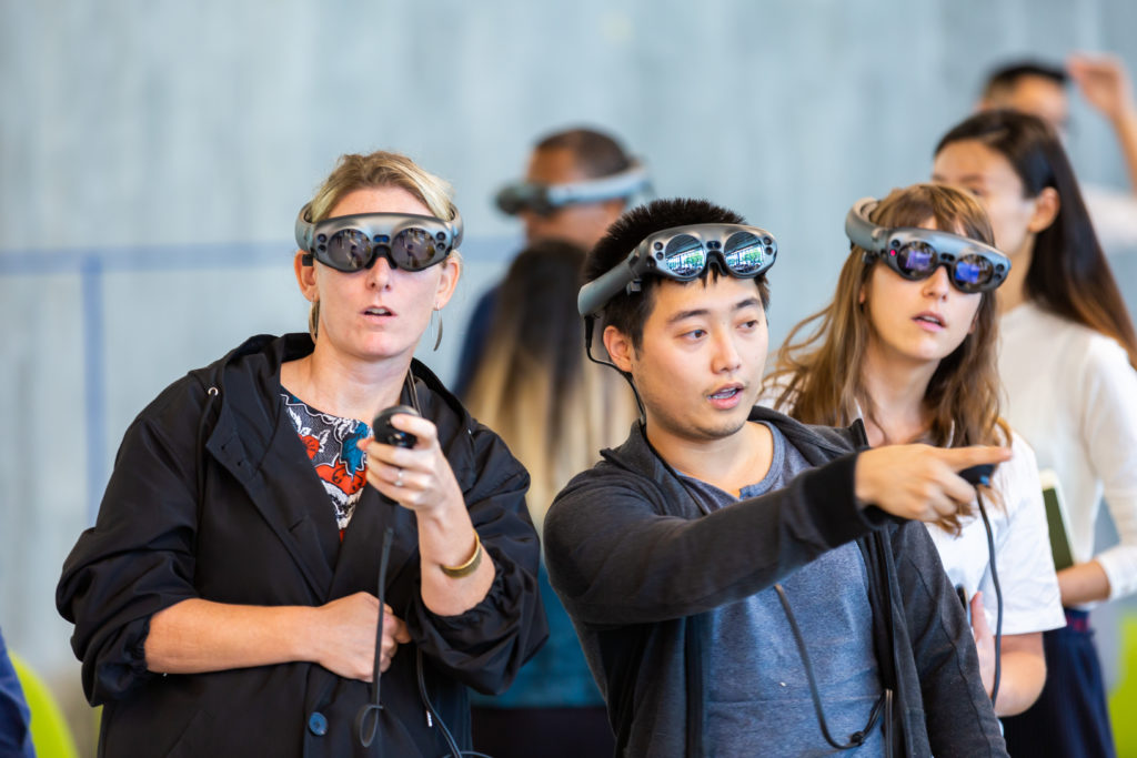 Magic Leap University of Miami College of Engineering students