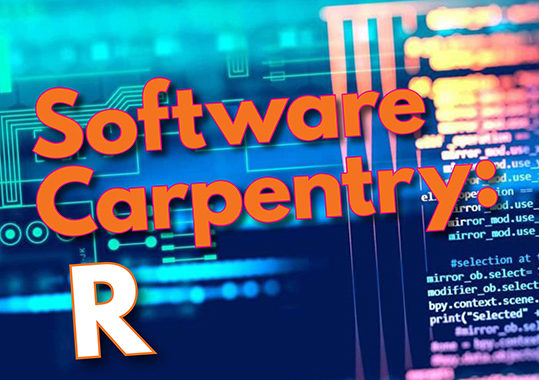 2-day R Workshop-Software Carpentry-CANCELLED